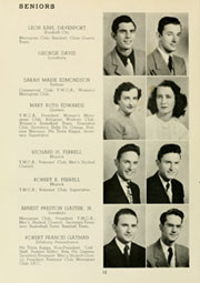 Page 16, 1950 Edition, Louisburg College - Oak Yearbook (Louisburg, NC) online yearbook collection