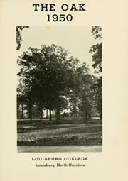 Page 5, 1950 Edition, Louisburg College - Oak Yearbook (Louisburg, NC) online yearbook collection
