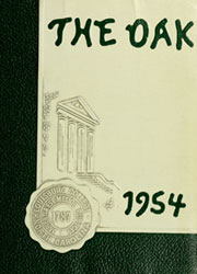 Page 1, 1954 Edition, Louisburg College - Oak Yearbook (Louisburg, NC) online yearbook collection