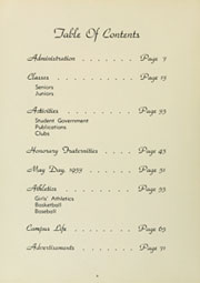 Page 10, 1954 Edition, Louisburg College - Oak Yearbook (Louisburg, NC) online yearbook collection