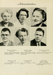 Page 14, 1954 Edition, Louisburg College - Oak Yearbook (Louisburg, NC) online yearbook collection