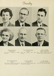Page 16, 1954 Edition, Louisburg College - Oak Yearbook (Louisburg, NC) online yearbook collection