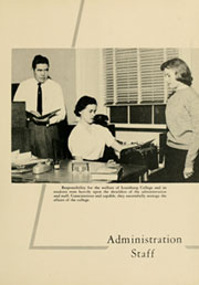 Page 11, 1958 Edition, Louisburg College - Oak Yearbook (Louisburg, NC) online yearbook collection