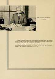 Page 12, 1958 Edition, Louisburg College - Oak Yearbook (Louisburg, NC) online yearbook collection
