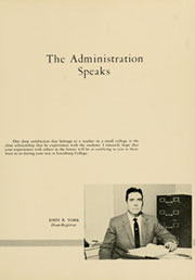 Page 13, 1958 Edition, Louisburg College - Oak Yearbook (Louisburg, NC) online yearbook collection