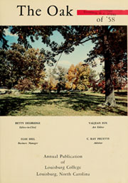 Page 5, 1958 Edition, Louisburg College - Oak Yearbook (Louisburg, NC) online yearbook collection