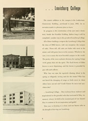Page 10, 1962 Edition, Louisburg College - Oak Yearbook (Louisburg, NC) online yearbook collection