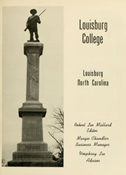 Page 7, 1962 Edition, Louisburg College - Oak Yearbook (Louisburg, NC) online yearbook collection