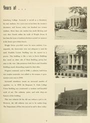 Page 9, 1962 Edition, Louisburg College - Oak Yearbook (Louisburg, NC) online yearbook collection