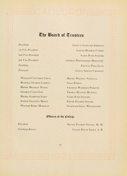 Page 15, 1921 Edition, Northeastern University - Cauldron Yearbook (Boston, MA) online yearbook collection