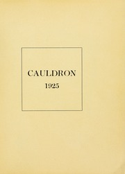 Page 5, 1925 Edition, Northeastern University - Cauldron Yearbook (Boston, MA) online yearbook collection