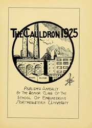 Page 7, 1925 Edition, Northeastern University - Cauldron Yearbook (Boston, MA) online yearbook collection