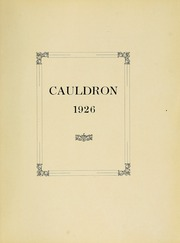 Page 5, 1926 Edition, Northeastern University - Cauldron Yearbook (Boston, MA) online yearbook collection
