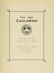 Page 7, 1926 Edition, Northeastern University - Cauldron Yearbook (Boston, MA) online yearbook collection