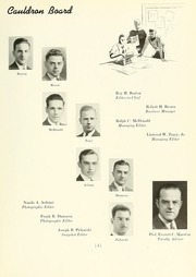 Page 9, 1939 Edition, Northeastern University - Cauldron Yearbook (Boston, MA) online yearbook collection