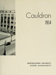 Page 7, 1954 Edition, Northeastern University - Cauldron Yearbook (Boston, MA) online yearbook collection