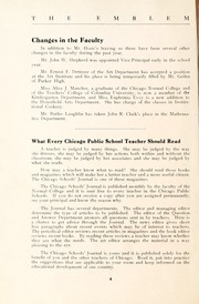 Page 12, 1921 Edition, Chicago State University - Emblem Yearbook (Chicago, IL) online yearbook collection