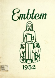 Page 1, 1952 Edition, Chicago State University - Emblem Yearbook (Chicago, IL) online yearbook collection
