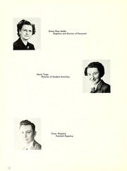 Page 16, 1952 Edition, Chicago State University - Emblem Yearbook (Chicago, IL) online yearbook collection