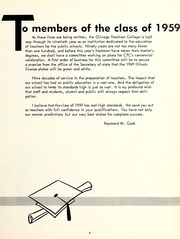 Page 11, 1959 Edition, Chicago State University - Emblem Yearbook (Chicago, IL) online yearbook collection