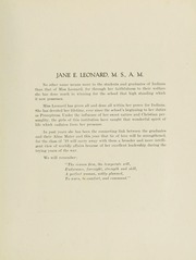 Page 17, 1919 Edition, Indiana University of Pennsylvania - Oak Yearbook / INSTANO Yearbook (Indiana, PA) online yearbook collection