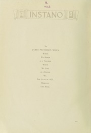 Page 6, 1923 Edition, Indiana University of Pennsylvania - Oak Yearbook / INSTANO Yearbook (Indiana, PA) online yearbook collection