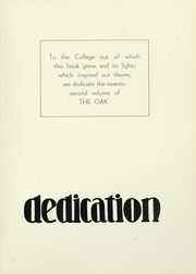 Page 11, 1933 Edition, Indiana University of Pennsylvania - Oak Yearbook / INSTANO Yearbook (Indiana, PA) online yearbook collection
