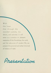Page 11, 1938 Edition, Indiana University of Pennsylvania - Oak Yearbook / INSTANO Yearbook (Indiana, PA) online yearbook collection
