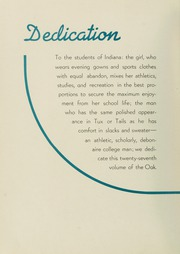 Page 12, 1938 Edition, Indiana University of Pennsylvania - Oak Yearbook / INSTANO Yearbook (Indiana, PA) online yearbook collection