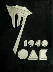 Indiana University of Pennsylvania - Oak Yearbook / INSTANO Yearbook (Indiana, PA) online yearbook collection, 1940 Edition, Page 1