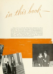 Page 11, 1942 Edition, Indiana University of Pennsylvania - Oak Yearbook / INSTANO Yearbook (Indiana, PA) online yearbook collection