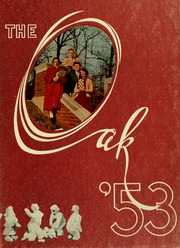 Page 1, 1953 Edition, Indiana University of Pennsylvania - Oak Yearbook / INSTANO Yearbook (Indiana, PA) online yearbook collection