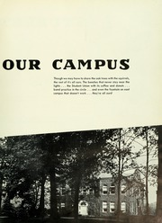Page 9, 1953 Edition, Indiana University of Pennsylvania - Oak Yearbook / INSTANO Yearbook (Indiana, PA) online yearbook collection