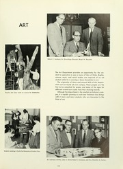 Page 17, 1957 Edition, Indiana University of Pennsylvania - Oak Yearbook / INSTANO Yearbook (Indiana, PA) online yearbook collection
