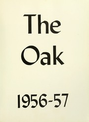 Page 5, 1957 Edition, Indiana University of Pennsylvania - Oak Yearbook / INSTANO Yearbook (Indiana, PA) online yearbook collection