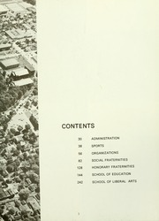 Page 7, 1966 Edition, Indiana University of Pennsylvania - Oak Yearbook / INSTANO Yearbook (Indiana, PA) online yearbook collection