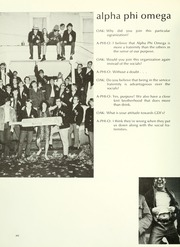 Page 312, 1971 Edition, Indiana University of Pennsylvania - Oak Yearbook / INSTANO Yearbook (Indiana, PA) online yearbook collection