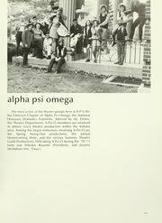 Page 315, 1971 Edition, Indiana University of Pennsylvania - Oak Yearbook / INSTANO Yearbook (Indiana, PA) online yearbook collection