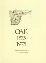 Page 5, 1975 Edition, Indiana University of Pennsylvania - Oak Yearbook / INSTANO Yearbook (Indiana, PA) online yearbook collection