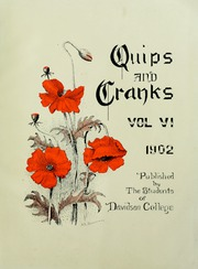Page 7, 1902 Edition, Davidson College - Quips and Cranks Yearbook (Davidson, NC) online yearbook collection