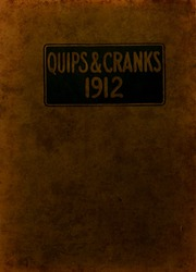 Page 1, 1912 Edition, Davidson College - Quips and Cranks Yearbook (Davidson, NC) online yearbook collection