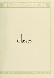 Page 15, 1923 Edition, Davidson College - Quips and Cranks Yearbook (Davidson, NC) online yearbook collection
