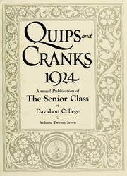 Page 7, 1924 Edition, Davidson College - Quips and Cranks Yearbook (Davidson, NC) online yearbook collection
