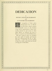 Page 13, 1927 Edition, Davidson College - Quips and Cranks Yearbook (Davidson, NC) online yearbook collection