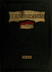 Page 1, 1929 Edition, Davidson College - Quips and Cranks Yearbook (Davidson, NC) online yearbook collection