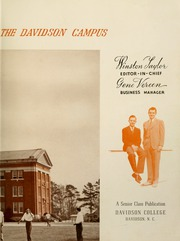 Page 7, 1941 Edition, Davidson College - Quips and Cranks Yearbook (Davidson, NC) online yearbook collection