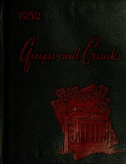 Davidson College - Quips and Cranks Yearbook (Davidson, NC) online yearbook collection, 1952 Edition, Page 1