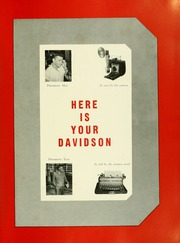 Page 5, 1952 Edition, Davidson College - Quips and Cranks Yearbook (Davidson, NC) online yearbook collection