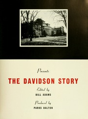 Page 7, 1952 Edition, Davidson College - Quips and Cranks Yearbook (Davidson, NC) online yearbook collection