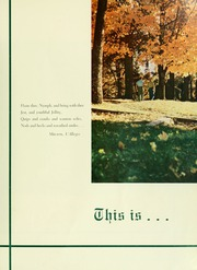 Page 5, 1956 Edition, Davidson College - Quips and Cranks Yearbook (Davidson, NC) online yearbook collection
